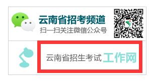 云南省招生考试工作网报名入口