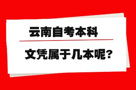 云南自考本科文凭属于几本呢?